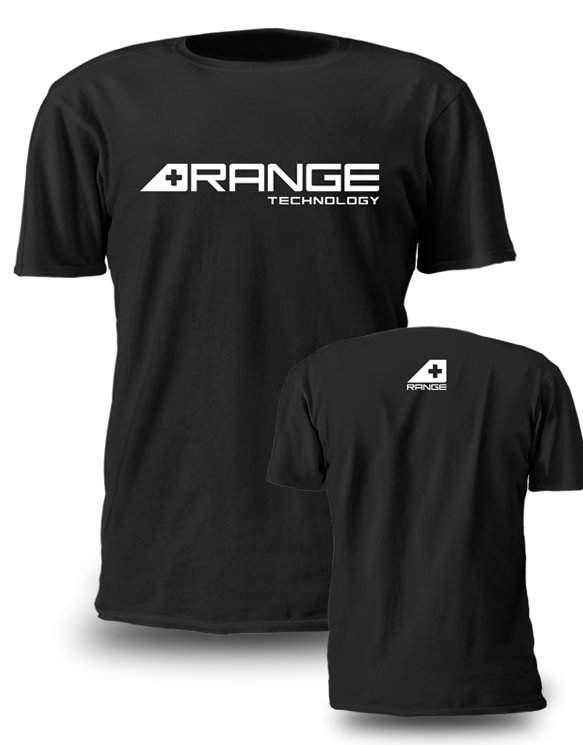 RA20A-03-S - Range Technology Black T-Shirt - Small Image